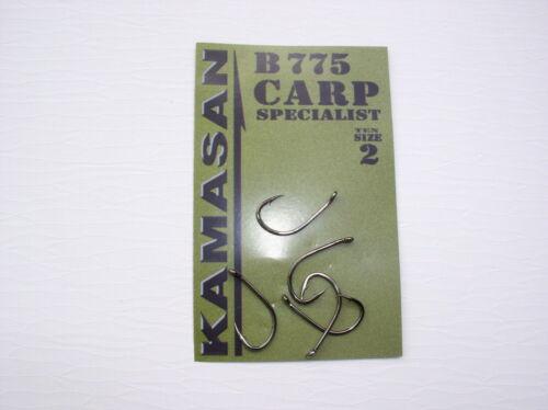 Tigers beliebter Boilie Hook Mais Kamasan Boiliehaken B775 Specialist Carp