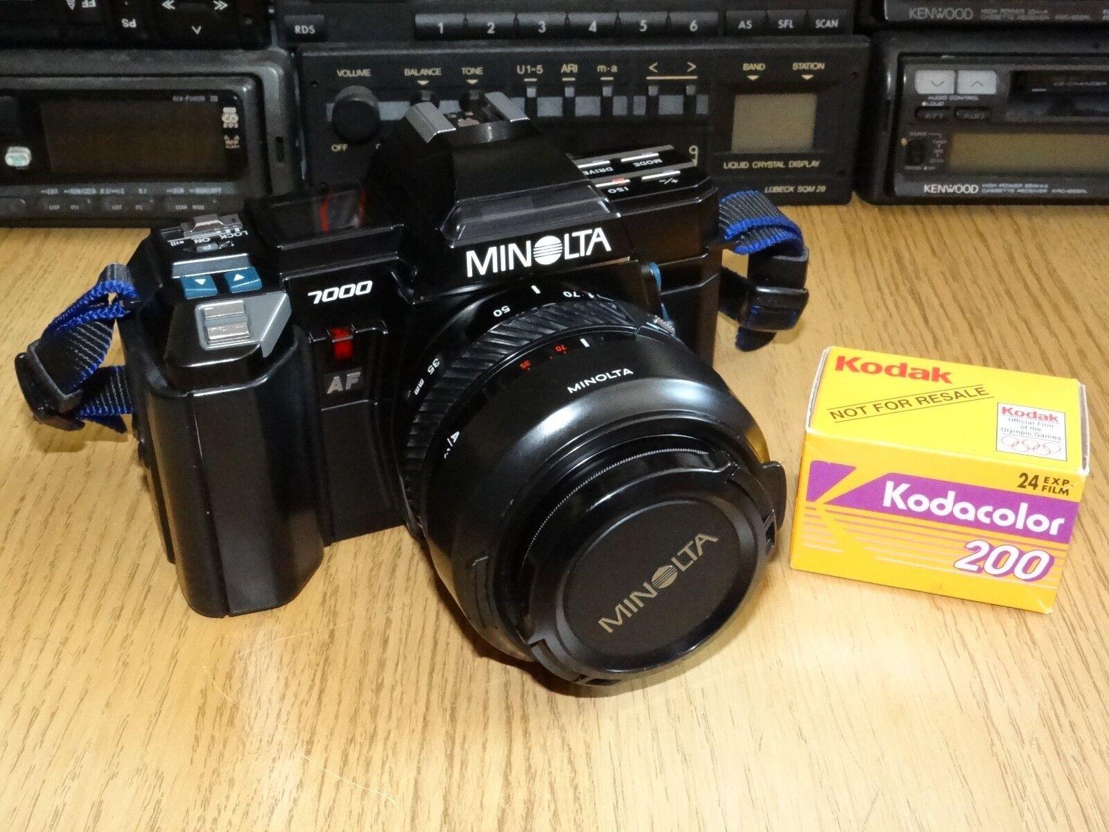 Konica Minolta Maxxum 7000 35mm SLR Film Camera Body Only