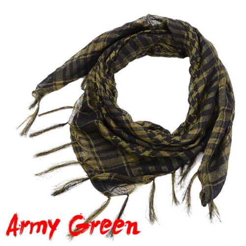 Men Women Keffiyeh Shemagh Army Military  Tactical Arab Scarf Head Wrap