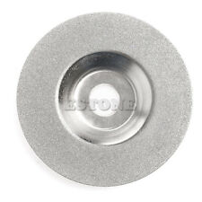 Cymbal Style Diamond Coated Rotary Grind Grinding Wheel Disc 4inch 100X16mm