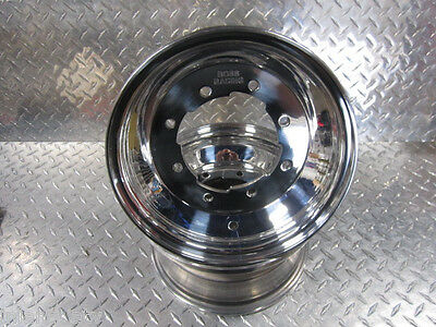 TRX250R TRX 250R Pair of Front Wheels Rims Polished BOSS RACING 10x5 3+2