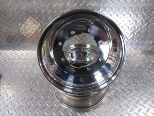 KFX450 KFX 450 Pair of Front Wheels Rims Polished BOSS RACING 10x5 3+2