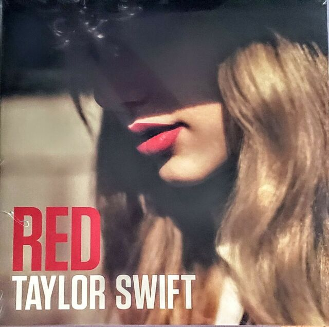 "TAYLOR SWIFT - RED - VINYL LP "" NEW , SEALED ""  2 LP SET - GATEFOLD JACKET"