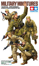 Plastic Toy Soldiers Model Kit 1/35 Scale WWII German Africa Corps Tamiya 35314