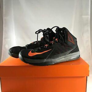 half off 5d6eb beef5 Image is loading Nike-Air-Max-Stutter-Step-2-Basketball-Shoes-