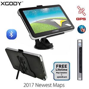 XGODY-704-7-039-039-Bluetooth-GPS-Navegador-del-coche-camion-Pantalla-Tactil-FM-8GB-ES