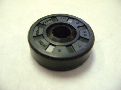 DUST SEAL 6mm X 22mm X 7mm NEW TC 6X22X7 DOUBLE LIPS METRIC OIL