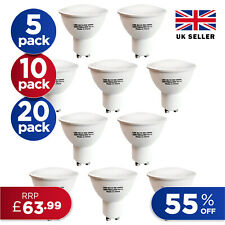 10x 5W GU10 LED Bulbs Spotlight Lamps Warm Cool Day White Down lights 240V