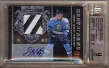 2011-12 CROWN ROYALE COAT OF ARMS SIDNEY CROSBY AUTO PATCH 08/10 BGS 9 / 10!!