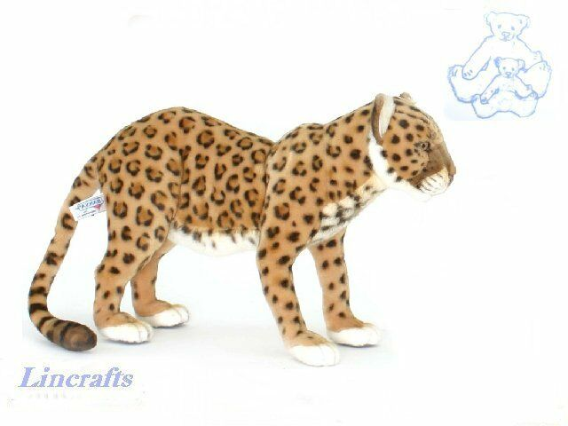 Hansa Anatolian Leopard 5157 Plush Soft Toy Sold by Lincrafts Established 1993