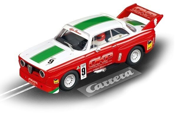Carrera 30647 Digital 132 Alfa Romeo Gta Silhouette Gr.5, Race 3, No.9 - Nip