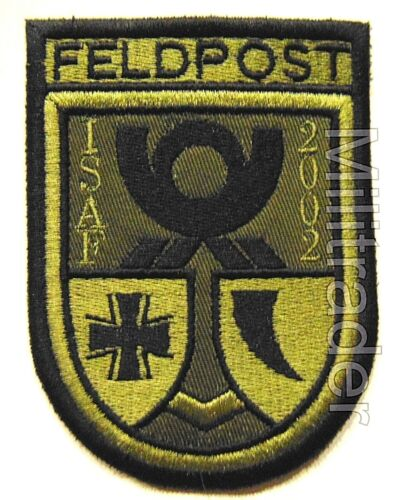 Germany Army Field Post Feld Post Subdued Afghanistan ISAF Patch 2002