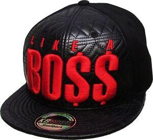 Image is loading KBETHOS-Like-A-Boss-Fashion-Snapback-Baseball-Cap ce672870aec