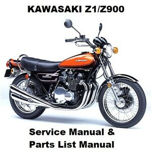 image is loading z1-z900-owners-workshop-service-repair-parts-manual-