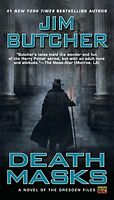Death Masks: Book Five Of The Dresden Files By Jim Butcher, (paperback), Roc , N