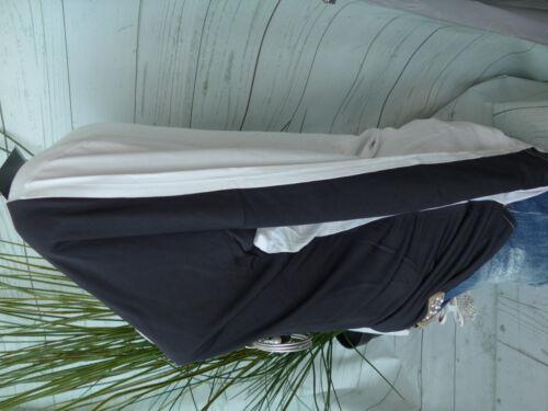 Lagen Look Vokuhila 935 50 weich fallend Apart Shirt Tunika Bluse Gr