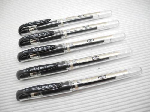 10 Pcs Uni-Ball Signo UM-153 1.0mm Broad Roller Gel pen GREEN