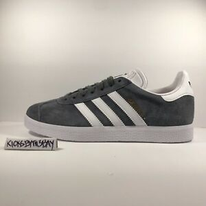 Details about Adidas Gazelle Originals Suede Gray White BB5480 Men's size 4.5