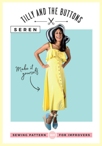 Womens IMPROVERS The Seren Dress UK SIZES 6-20 Ladies Sewing Pattern