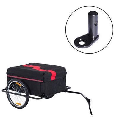 Enganche de Remolque Infantil para Bicicleta Acoplador Adjunto Accesorio Acero