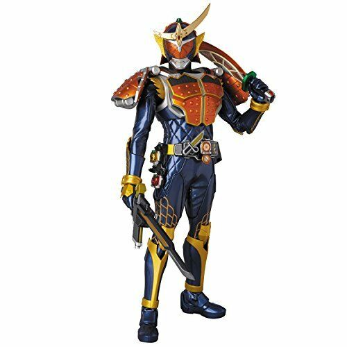 Nouveau MEDICOM TOY RAH Genesis No.723 Masked Kamen Rider Gaim Orange Arms Figure