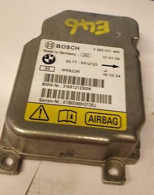 BMW SERIE 3 E46 Bosch Airbag Modulo 6912123