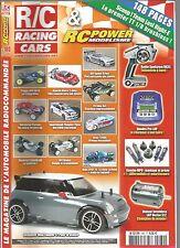 R/C RACING CAR N°180 GRAUPNER MINI COOPER S / MAVERICK STEALTH XB / TRUGGY LRP