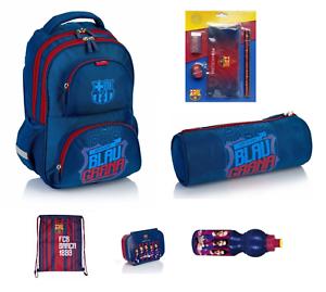 2433b9089 FC BARCELONA School Bag Backpack BOYS Kids licensed + Pencil case + ...