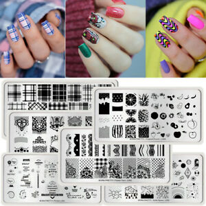 BORN-PRETTY-Nail-Stamping-Plates-Nail-Art-Image-Stamp-Template-Stencils