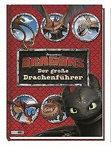 Dragons-Der-grosse-Drachenfuehrer-Buch-Zustand-gut