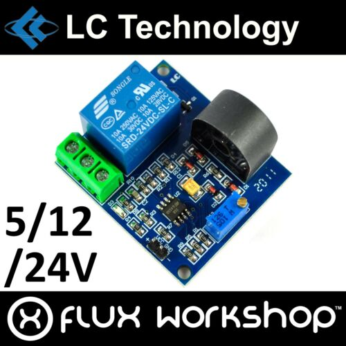 LC Technology 5A Over-current Protection Relay Module ZMCT103C Flux Workshop
