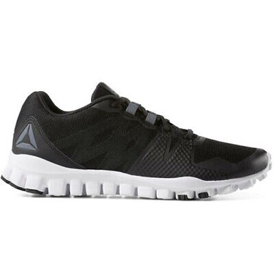 Details about Reebok CN6771 Men Real FLEX Train 5.0 Training shoes black white sneakers