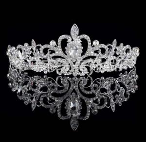 Crown-Bridal-Tiara-Rhinestone-Headpiece-Crystal-Bridal-Headband-Hair-Accessories