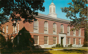 Postcard-Cowles-Library-Drake-University-Des-Moines-IA-Posted-1959