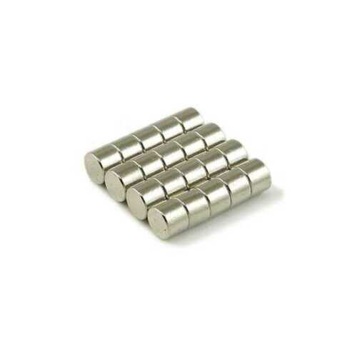 "5//32/"" x 1//8/"" Cylinder 4x3m Neodymium Magnets N35 Fridge Crafting Fasteners Craft"
