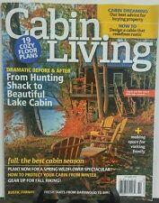 Cabin Living October 2016 19 Cozy Floor Plans FREE SHIPPING