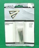 Game Tracker Terminator Double Cut Serrated Broadhead Replacement Blades Pak