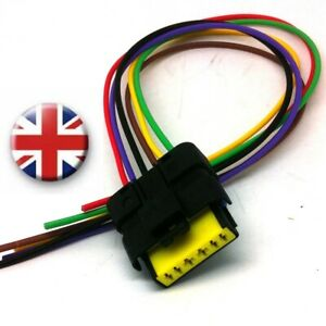 Astonishing Ford Peugeot Citroen Maf C Air Mass Sensor Connector Wiring Harness Wiring Database Obenzyuccorg