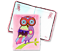 A5 Plush Notebook Diary Cute Owl Unicorn Fantasy Christmas Birthday Girls Gifts