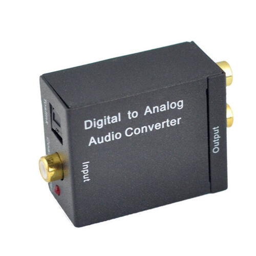 Digital to Analog Converter DAC Digital SPDIF Toslink to Analog Stereo Audio L//R