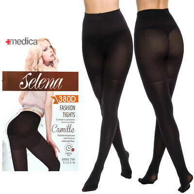 Womens Push-Up NEW Tights with Corrective Shorts Lift Up Shaping Pantyhose SE862