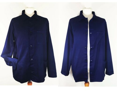VINTAGE EU French Worker CHORE Work Jackets - Blue