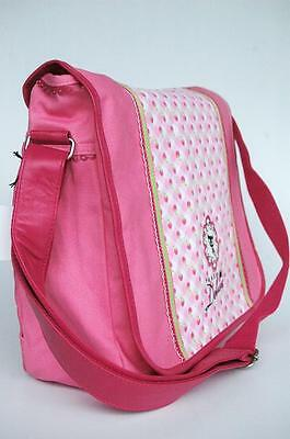 PUSSY DELUXE TASCHE MESSENGER BAG FRUITS pink NEU