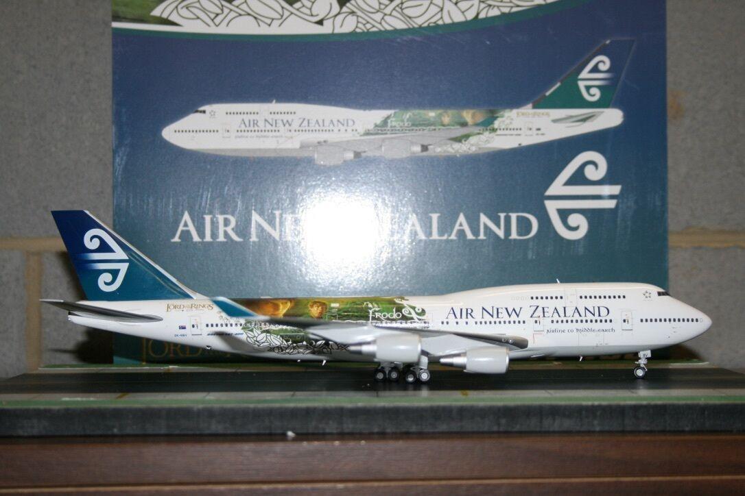 Sin impuestos Jc Wings 1 200 Air New Zealand Boeing 747-400 Zk-Nbv Zk-Nbv Zk-Nbv Señor De Los Anillos (XX2859)  tienda de venta