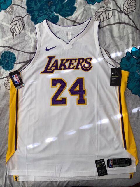 Nike Lakers Kobe Bryant 24 Authentic Jersey La 2xl 56 XXL Sewn ...