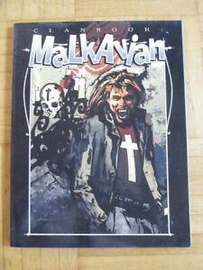 Vampire The Masquerade – Clanbook Malkavian (new edition 2000) - Sourcebook engl
