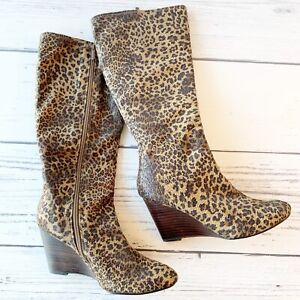 BP Nordstrom Animal Print Boots   eBay