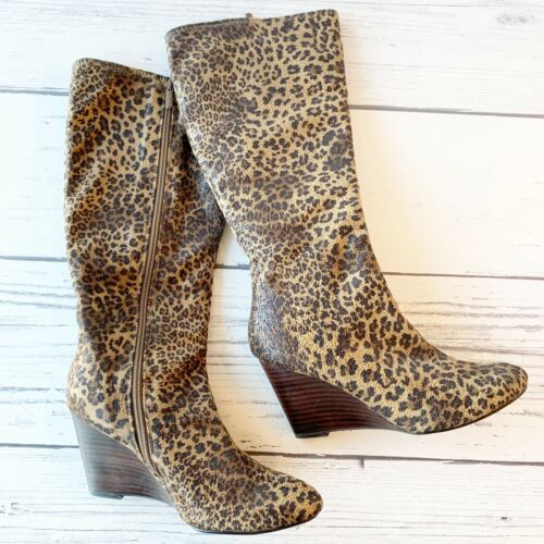 BP Nordstrom Animal Print Boots