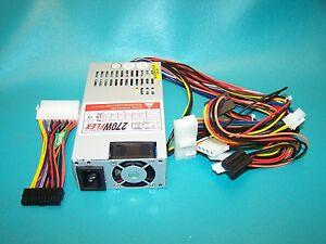 270W-Active-PFC-Flex-ATX-12-Volt-4-Pin-Power-Supply-KDM-MFX9270H-with-HP-Adapter