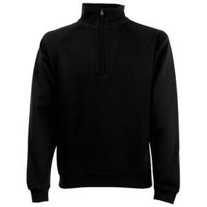 Fruit-of-the-Loom-Classic-80-20-Zip-Neck-Sweatshirt